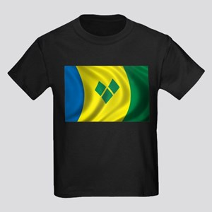 Flag of Saint Vincent and the Grenadines Kids Dark