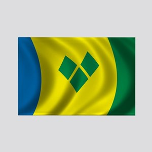 Flag of Saint Vincent and the Grenadines Rectangle