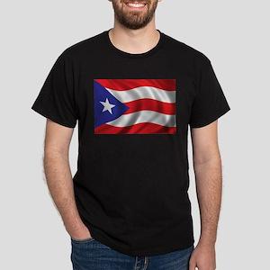 Flag of Puerto Rico Dark T-Shirt
