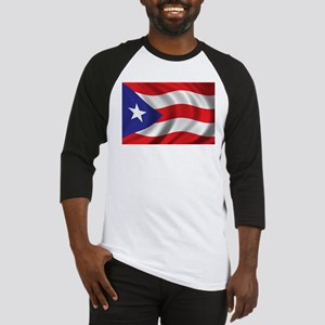 Flag of Puerto Rico Baseball Jersey