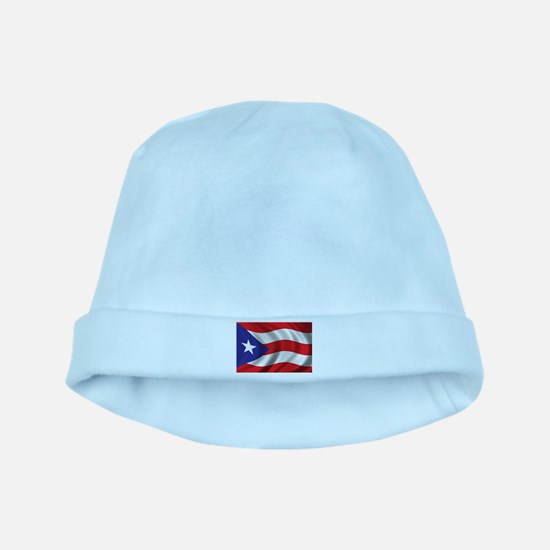 Flag of Puerto Rico baby hat