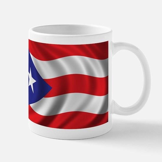 Flag of Puerto Rico Mug