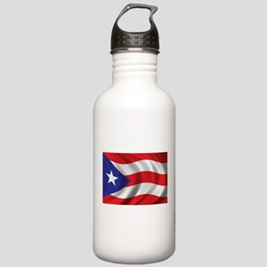 Flag of Puerto Rico Stainless Water Bottle 1.0L