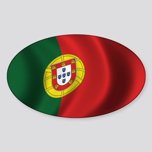 Flag of Portugal Sticker (Oval)
