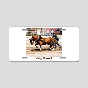 Welsh Pony (Sect. C) Aluminum License Plate