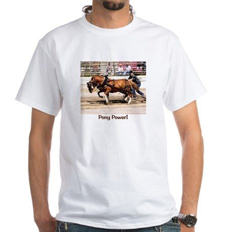 Welsh Pony (Sect. C) White T-Shirt