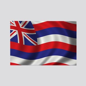Flag of Hawaii Rectangle Magnet