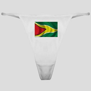 Flag of Guyana Classic Thong
