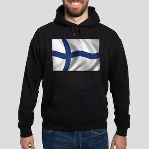Flag of Finland Hoodie (dark)