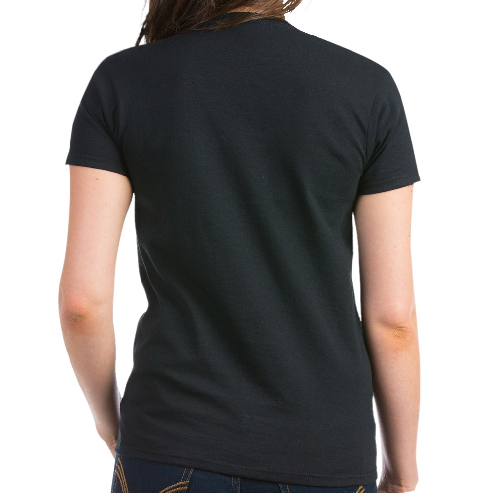 CafePress-Alien-Kitty-Women-039-s-Dark-T-Shirt-Women-039-s-Cotton-T-Shirt-598989504 thumbnail 3