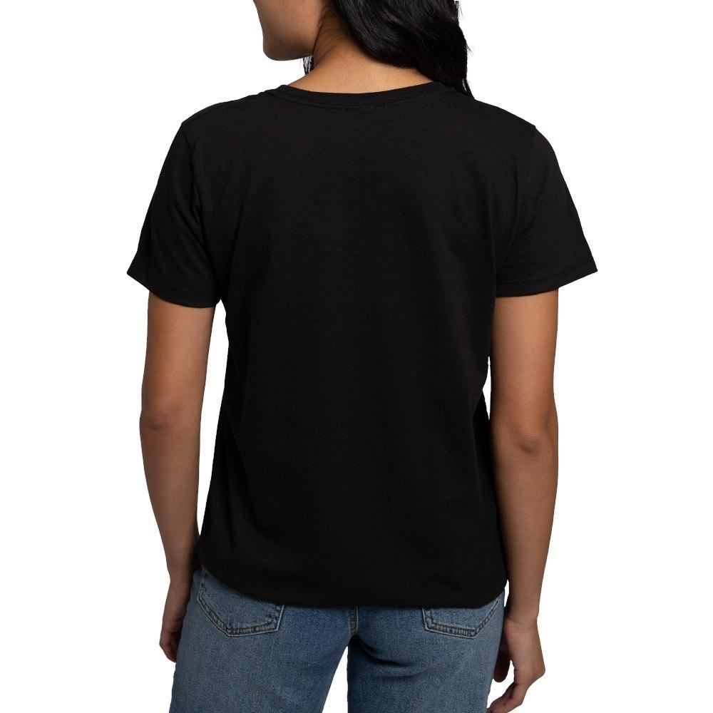 CafePress-Alien-Kitty-Women-039-s-Dark-T-Shirt-Women-039-s-Cotton-T-Shirt-598989504 thumbnail 5
