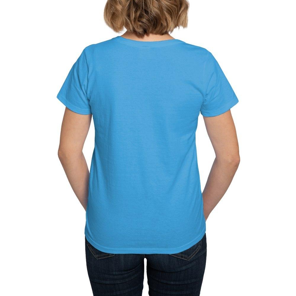 CafePress-Alien-Kitty-Women-039-s-Dark-T-Shirt-Women-039-s-Cotton-T-Shirt-598989504 thumbnail 42