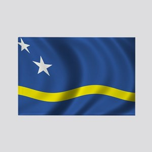 Flag of Curacao Rectangle Magnet