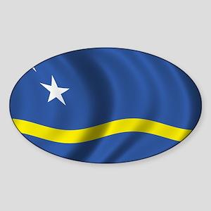 Flag of Curacao Sticker (Oval)