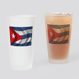 Flag of Cuba Drinking Glass