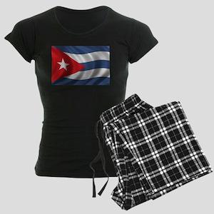 Flag of Cuba Women's Dark Pajamas