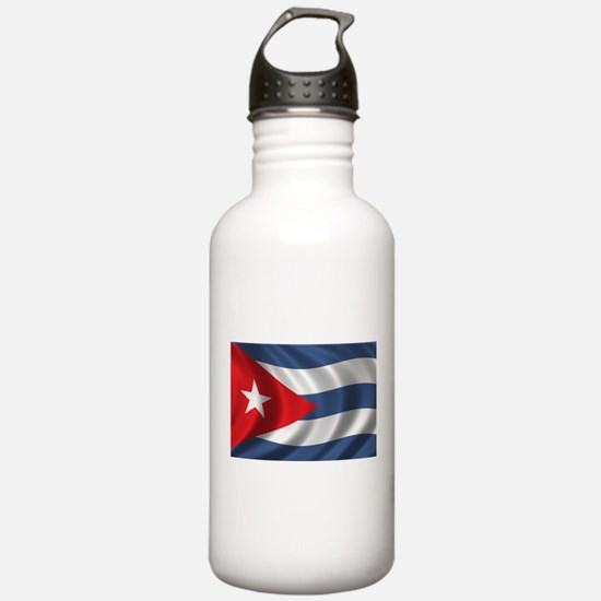 Flag of Cuba Water Bottle