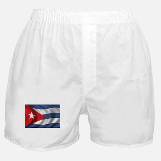 Flag of Cuba Boxer Shorts