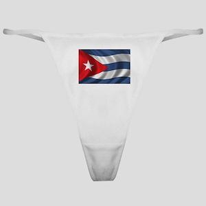 Flag of Cuba Classic Thong