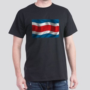 Flag of Costa Rica Dark T-Shirt