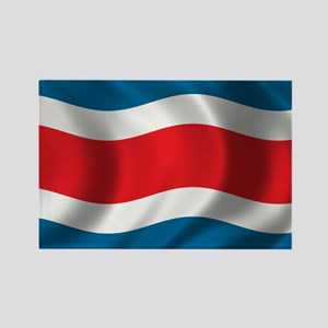 Flag of Costa Rica Rectangle Magnet