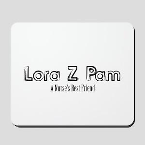 Lora Z Pam Mousepad