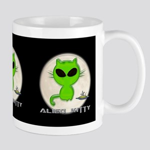 alien kitty Mug