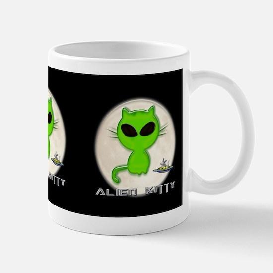 alien kitty Mug