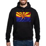 Arizona state flag Dark Hoodies