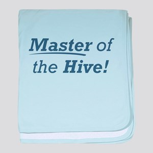 Master of the Hive baby blanket