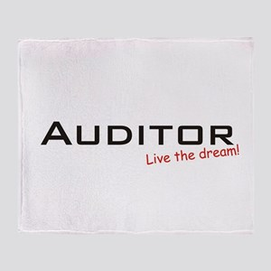 Auditor / Dream! Throw Blanket