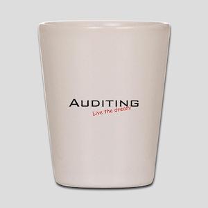 Auditing / Dream! Shot Glass