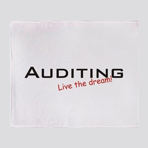 Auditing / Dream! Throw Blanket