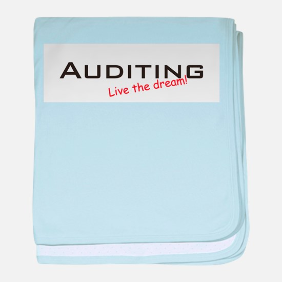 Auditing / Dream! baby blanket