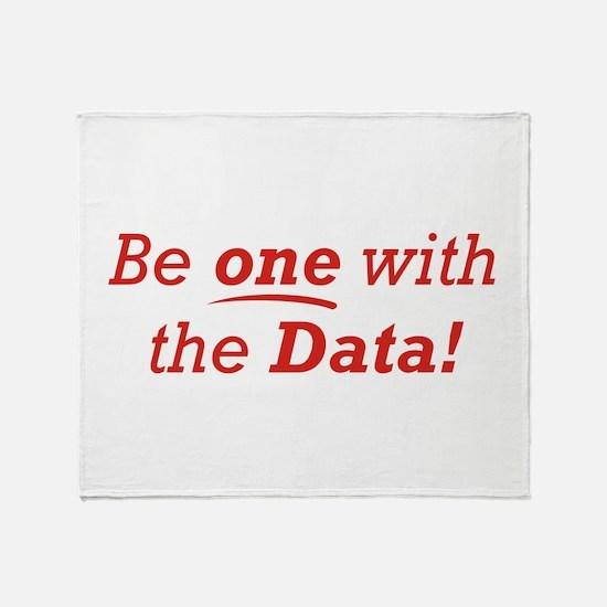 One / Data Throw Blanket