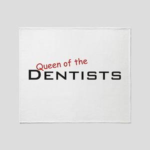 Dentists / Queen Throw Blanket