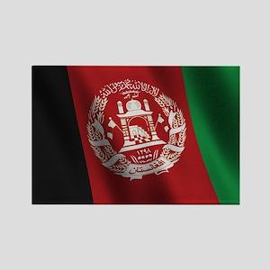 Flag of Afghanistan Rectangle Magnet