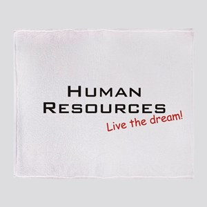 Human Resources / Dream! Throw Blanket