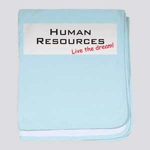 Human Resources / Dream! baby blanket