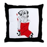 Harley Great Christmas Pup Throw Pillow