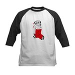 Harley Great Christmas Pup Kids Baseball Jersey