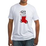 Harley Great Christmas Pup Fitted T-Shirt