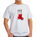 Harley Great Christmas Pup Light T-Shirt