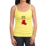 Harley Great Christmas Pup Jr. Spaghetti Tank