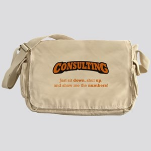 Consulting-Numbers Messenger Bag