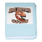 Bus Driving Old Timer baby blanket