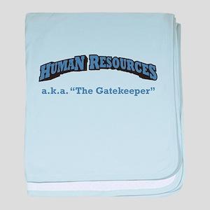 HR / Gatekeeper baby blanket