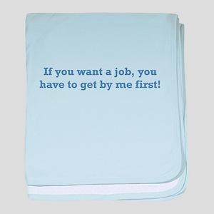 Job / First baby blanket