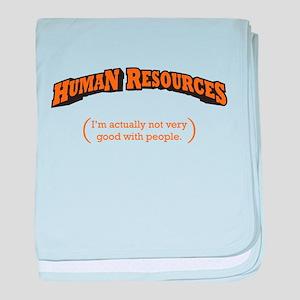 HR / People baby blanket