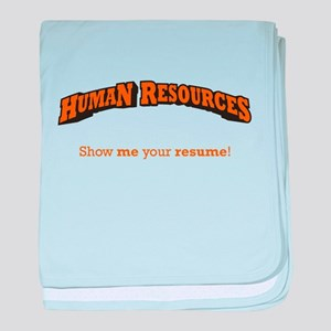 HR / Resume baby blanket